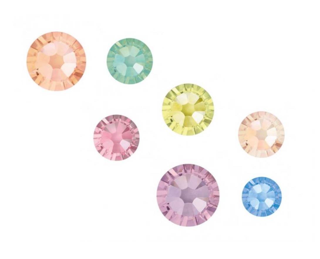 Crystal Parade Swarovski Sherbet Mix Pack of 100