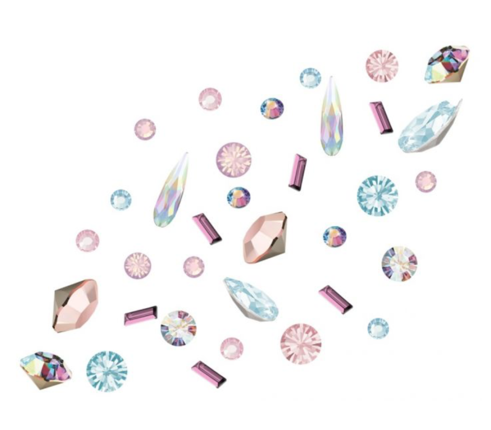 Crystal Preciosa Nail Art Mix - Alice's Big Adventure