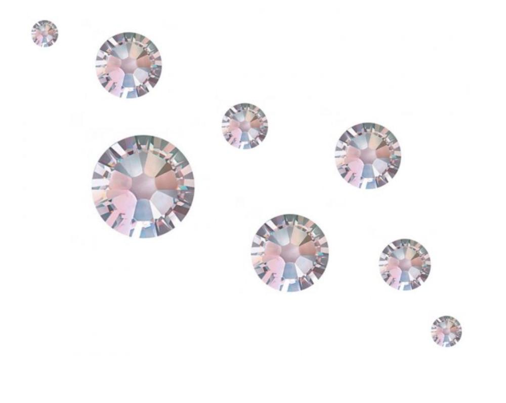 Crystal Parade Swarovski AB Mixed Sizes