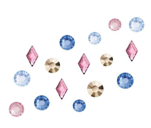 Crystal Parade Preciosa Nail Art Mix - Pack of 100 Absolem