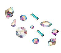 Crystal Parade Preciosa 3D Nail Art Mix Pack of 100 - AB