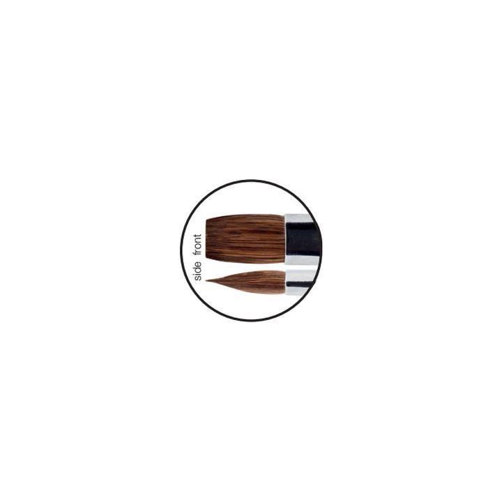 Crystal Nails Nero Merlo II Gel Builder Brush