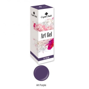 Crystal Nails Art Gel - Purple