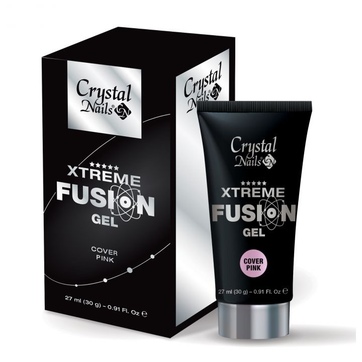 Crystal Nails Xtreme Fusion Gel Cover Pink 30g