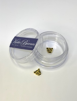 Gold Cheetah Nail Art Jewellery
