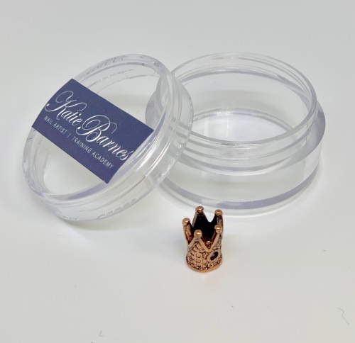 Vintage Copper Crown Nail Jewellery
