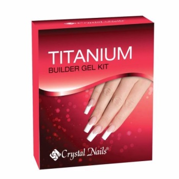 Crystal Nail Titanium Builder Gel Kit