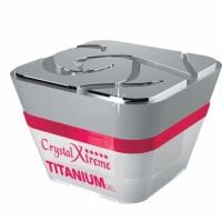Crystal Nails Builder Xtreme Titanium Clear Gel 15ml