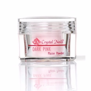 Crystal Nails Dark Pink Acrylic 100g