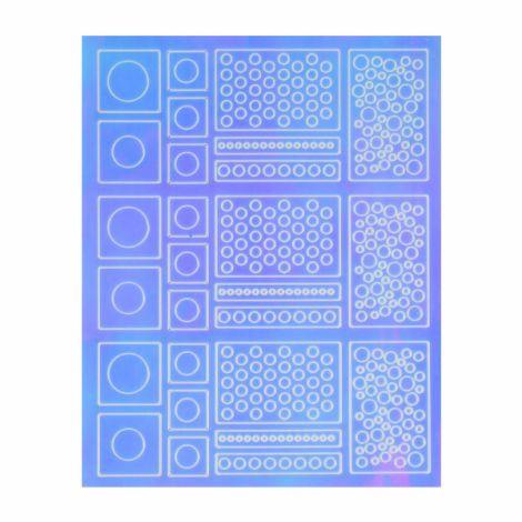 Nail Stickers - Mirror 1
