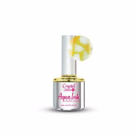 crystal Nails AquaInk Crystal Drops - Yellow
