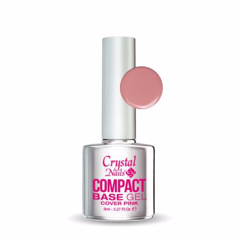 Crystal Nails Compact Base Gel Cover Pink