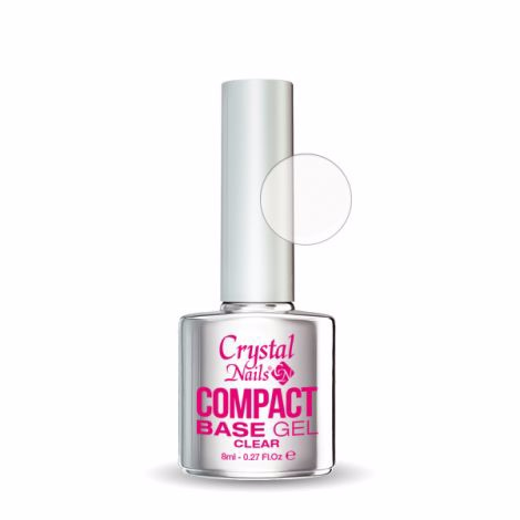 Crystal Nails Compact Base Gel Clear