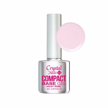 Crystal Nails Compact Base Gel Milky Pink