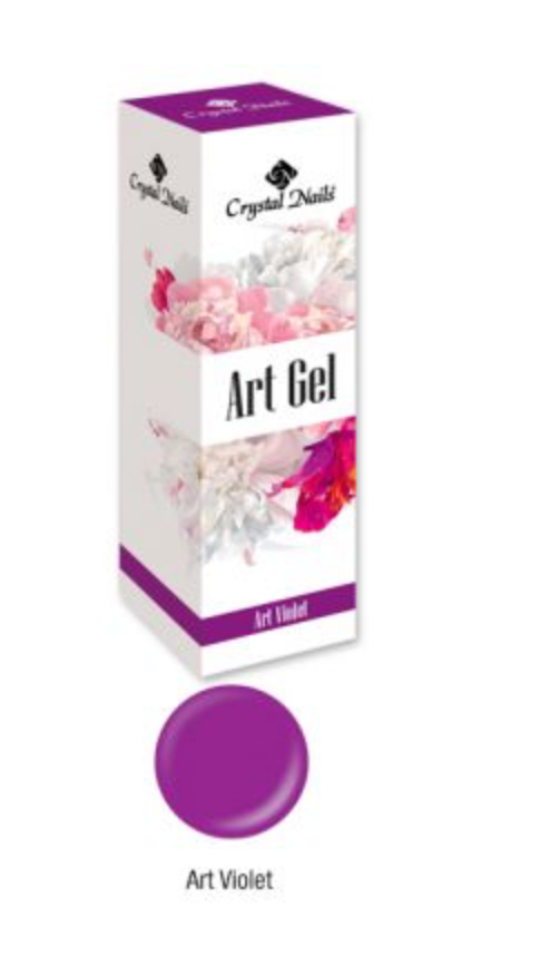Crystal Nails Art Gel - Violet