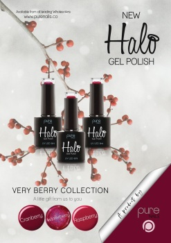 Halo Gel Polish Cranberry