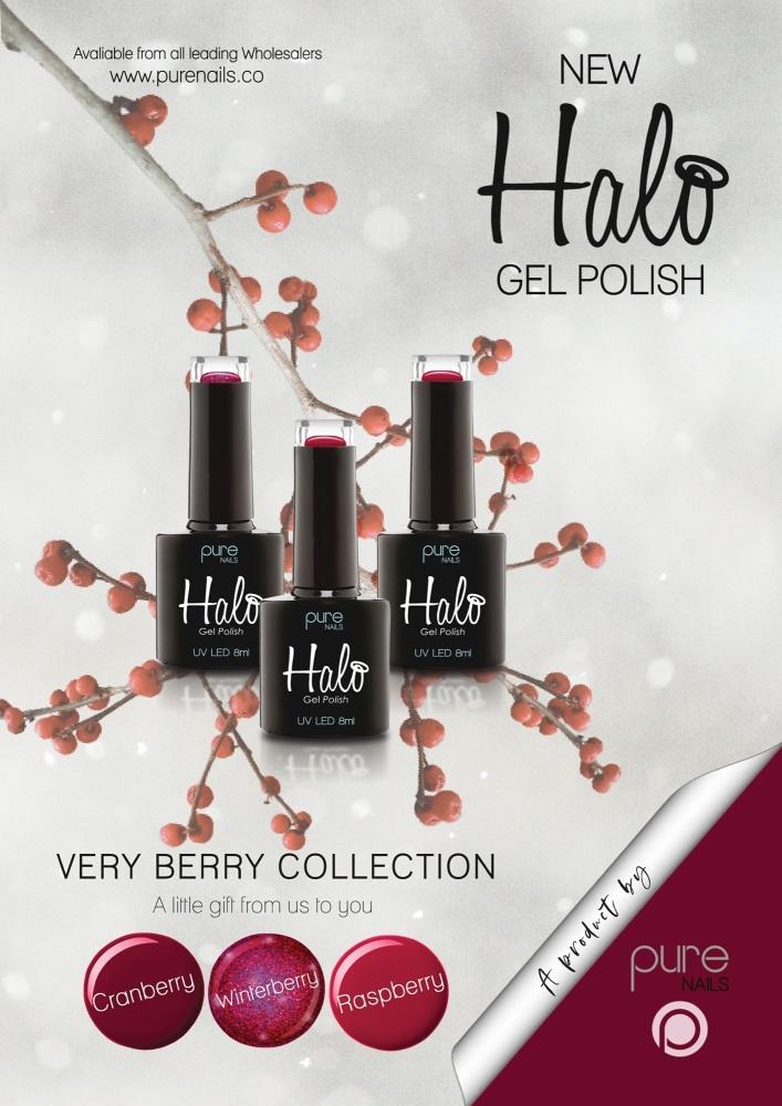 Halo Gel Polish Raspberry