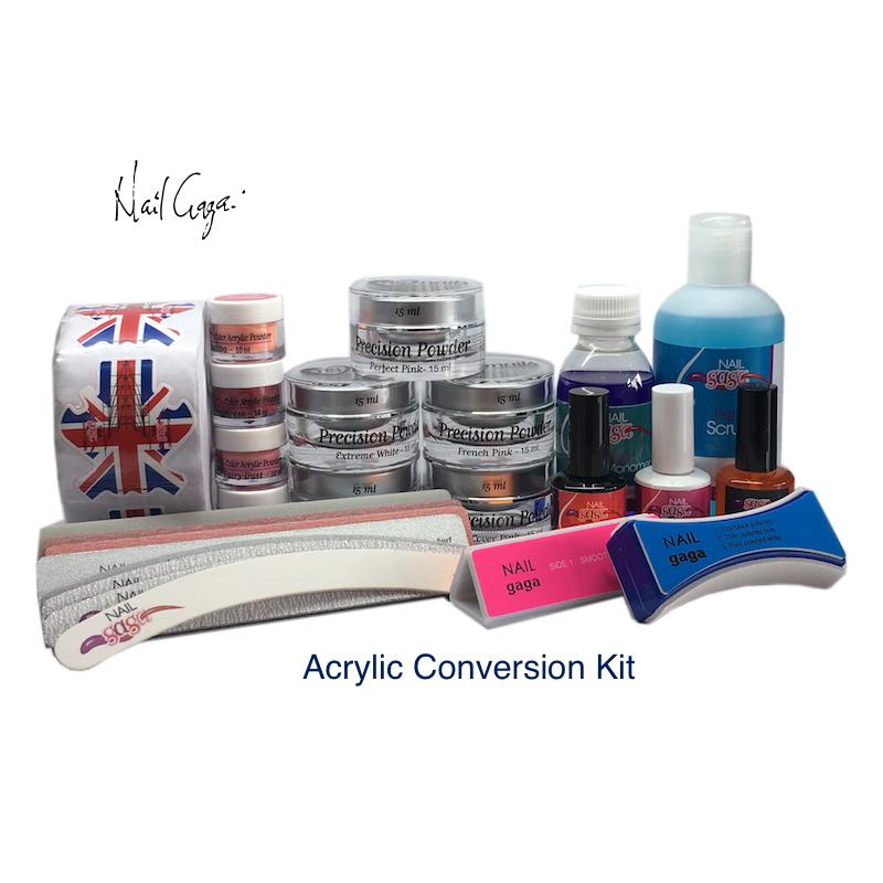 Nail Gaga Acrylic Conversion Kit Plus