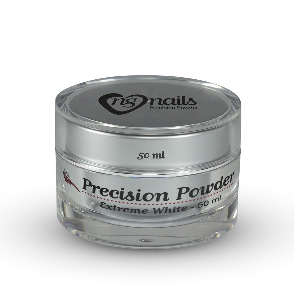 Nail Gaga Precision Acrylic Powder Extreme White 50ml