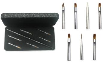 Nail Gaga Master's Multi functional Nail Artist brush set