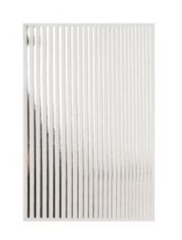 Crystal Nails Magic Stripes Sticker SILVER