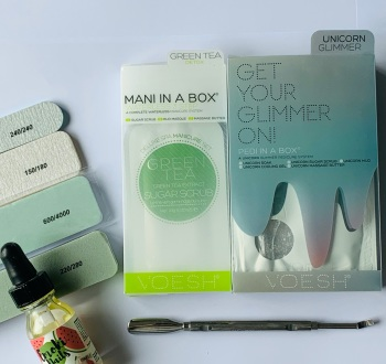 Luxury pedicure at home kit