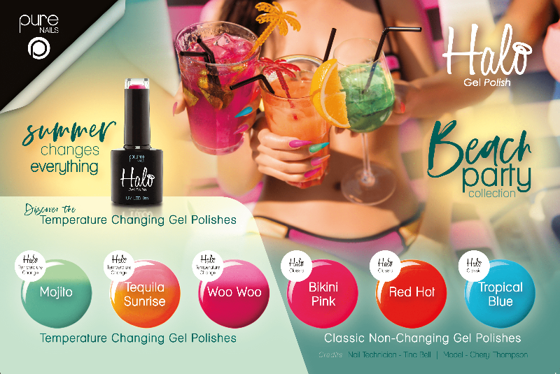 Halo Gel Polish Collection - Beach Party