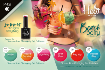 Halo Gel Polish Beach Party Full Collection