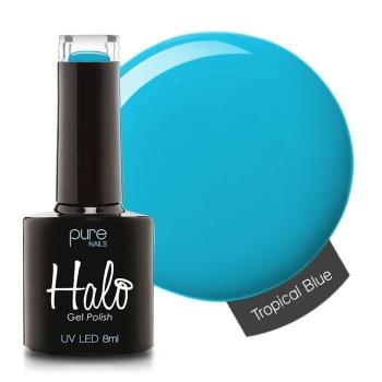 Halo Gel Polish - Tropical Blue