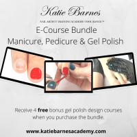 Online Bundle: Manicure; Pedicure & Gel Polish E-Courses