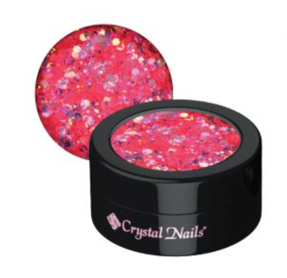 Crystal Nails Glam Glitters - 12