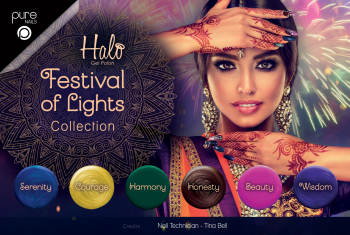 Halo Gel Polish Festival of Lights Full Collection