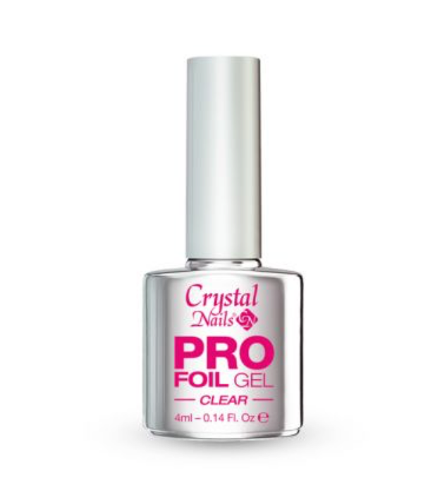 Crystal Nails Pro Foil Gel Clear