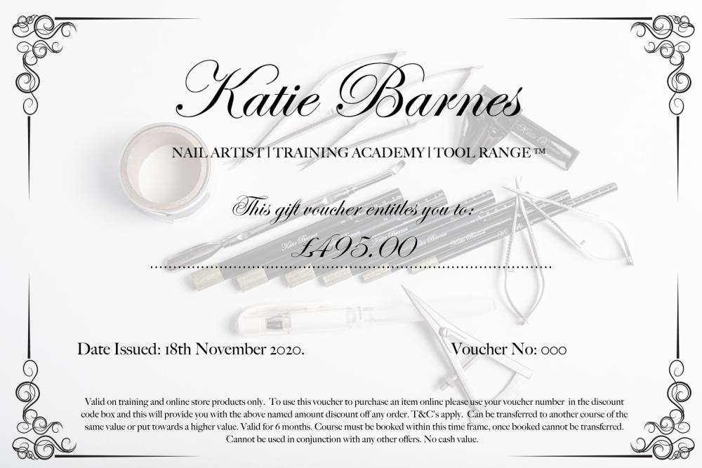 Katie Barnes Bootcamp Gift Voucher