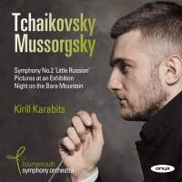 Mussorgsky: Pictures at an Exhibition CD cover