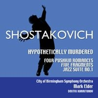 Shostakovich: Hypothetically Murdered CD cover