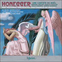 Honegger: Prelude, Fugue et Postlude CD cover
