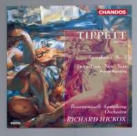 Tippett: New Year Suite CD cover