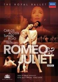 Prokofiev Romeo and Juliet DVD cover