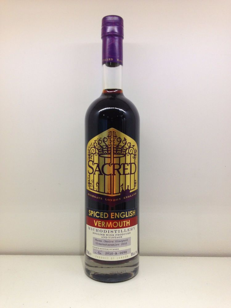 Spiced English Vermouth