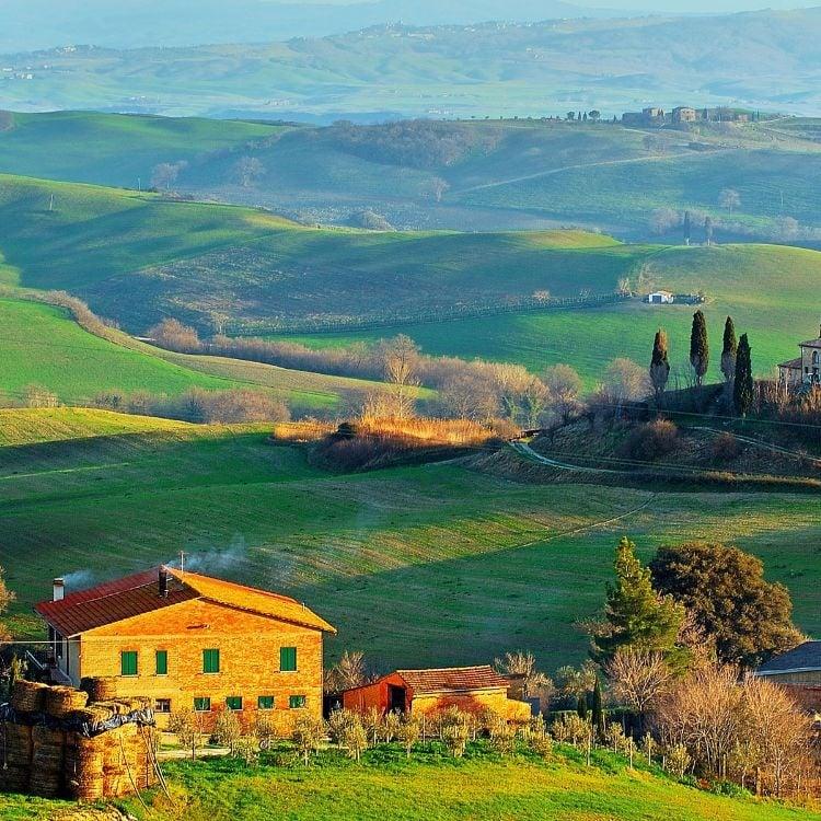 Tuscany, Lazio, Abruzzo & Marche