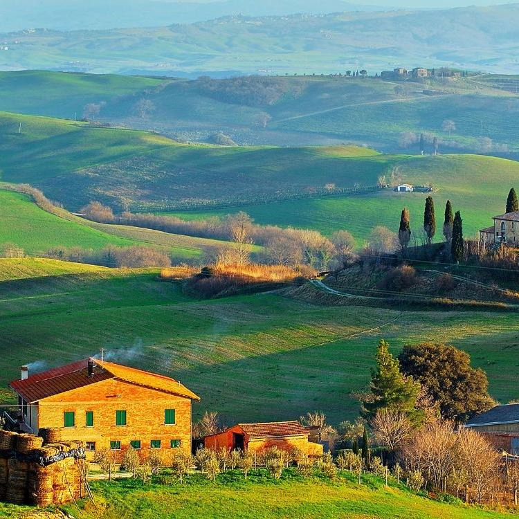 Tuscany,Emilia-Romagna, Lazio & Le Marche
