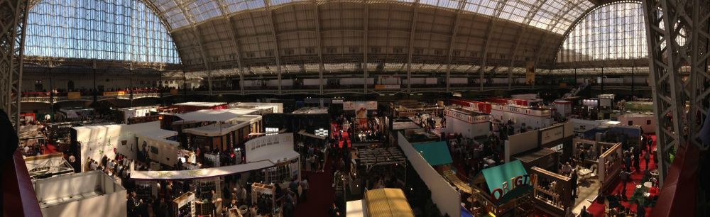 London Wine Fair 2017 - Panorama