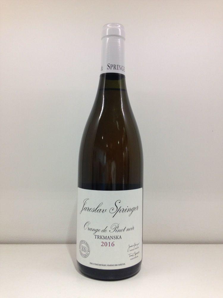 Stapleton & Springer Orange Pinot Noir