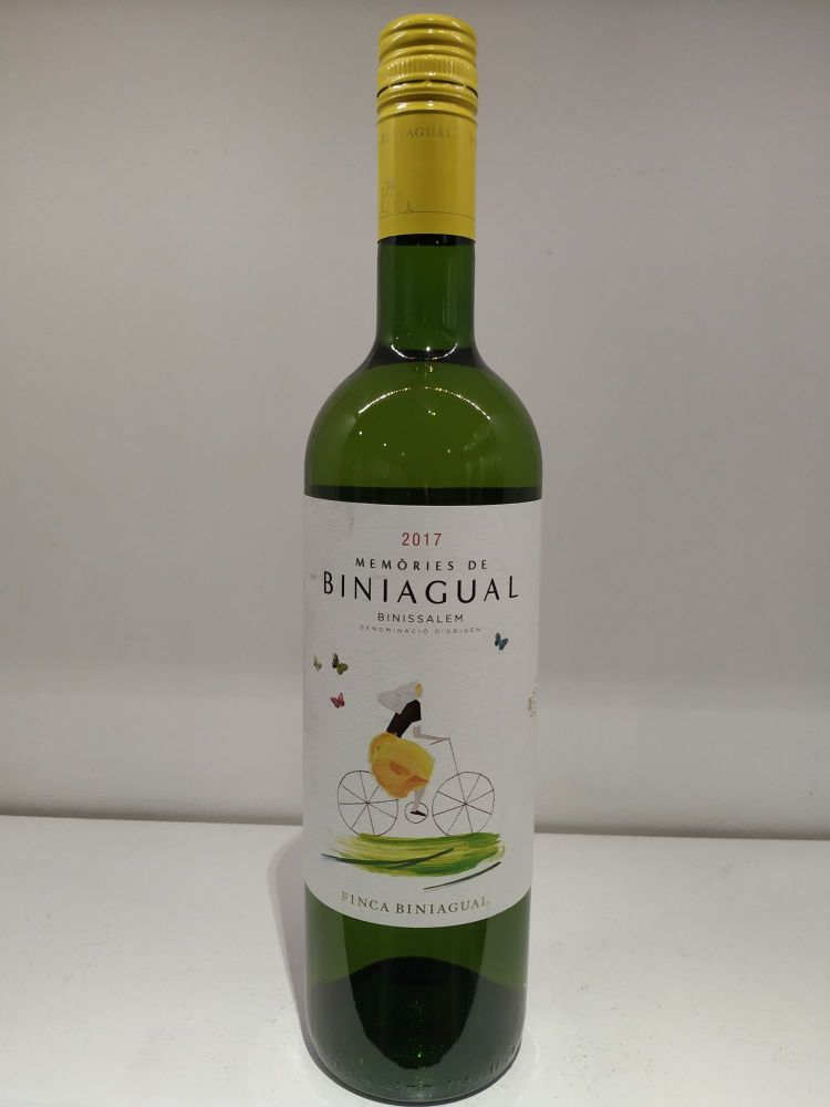 Bodega Biniagual 'Memóries Blanc'