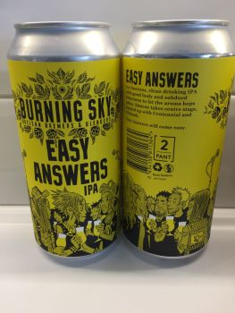 Easy Answers - 440ml Can - Burning Sky