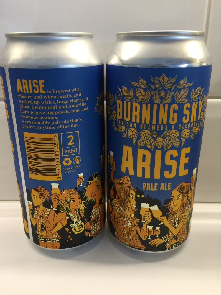 Arise - 440ml Can - Burning Sky
