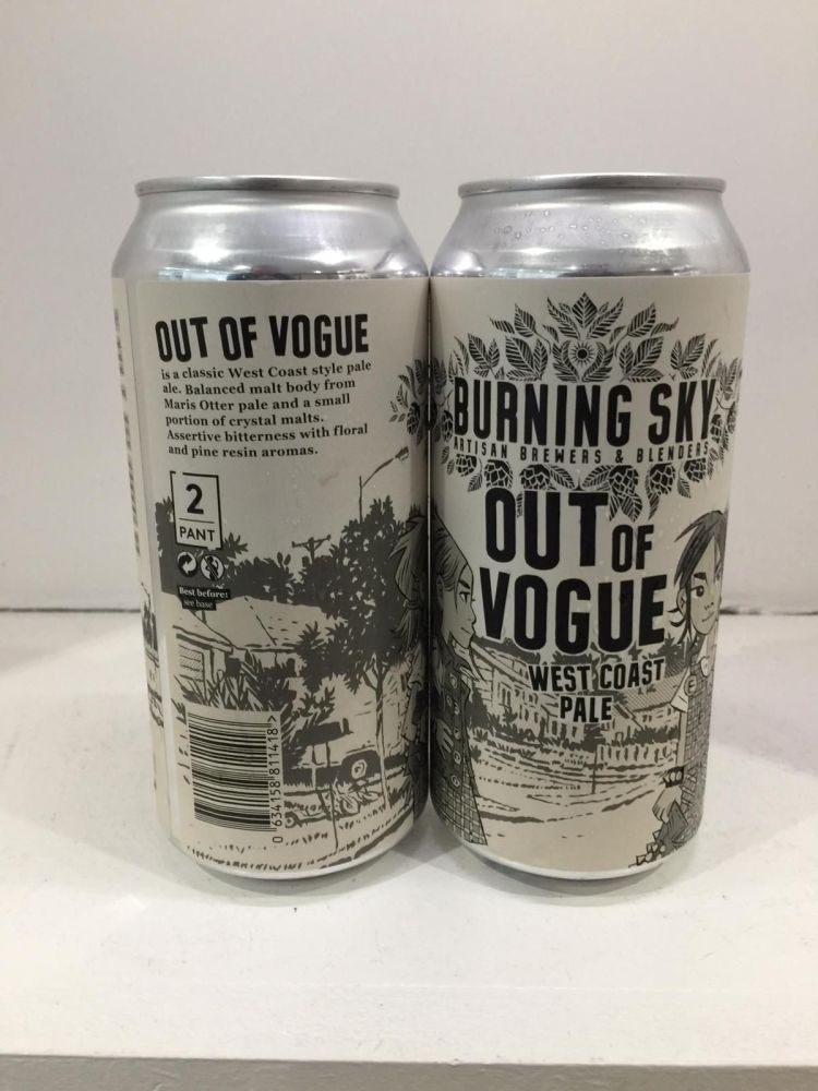 Out of Vogue - West Coast Pale - Burning Sky