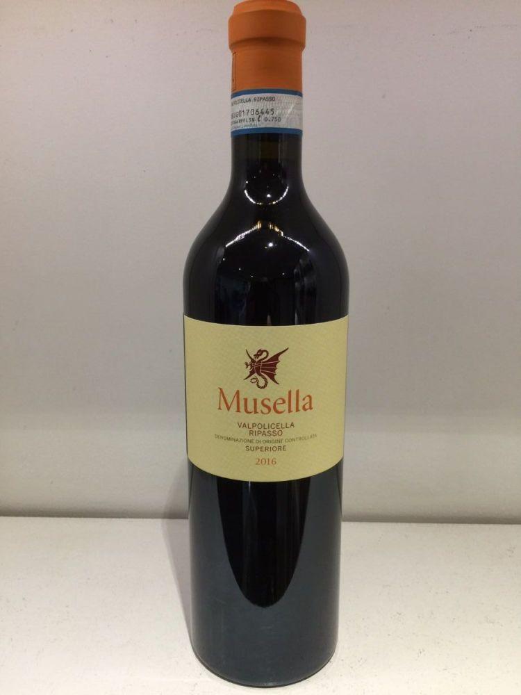 Musella 2016 Valpolicella Superiore Ripasso Organic