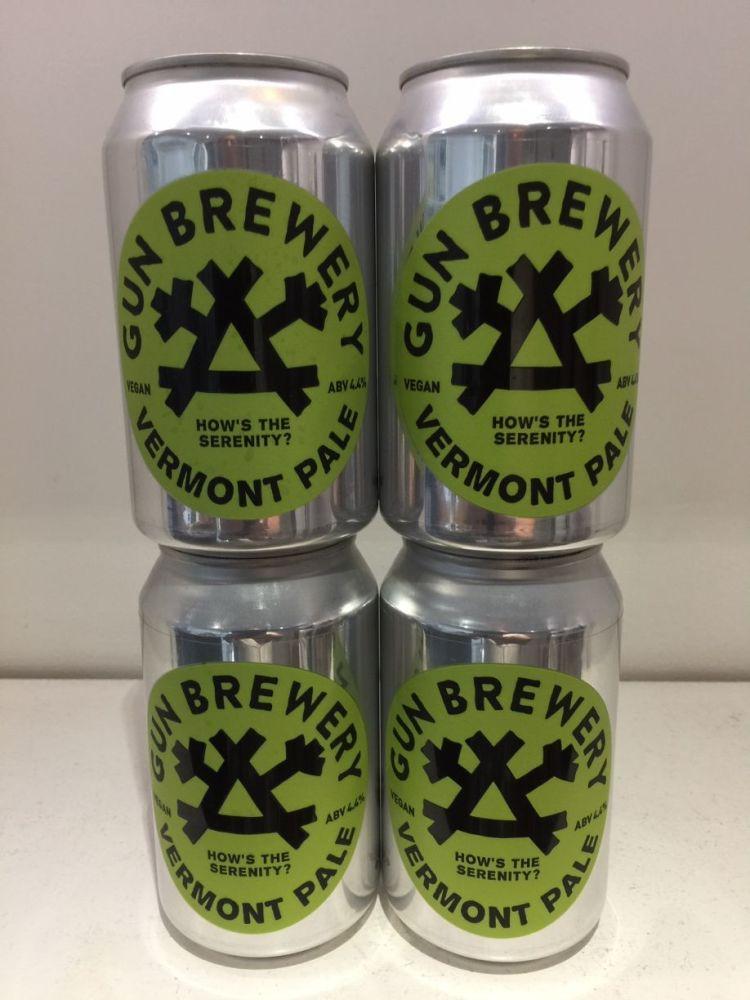 Vermont Pale Ale - Gun Brewery